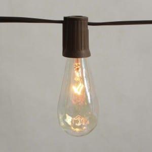 10 Count ST40 Edison Bulb Electric LED String Light