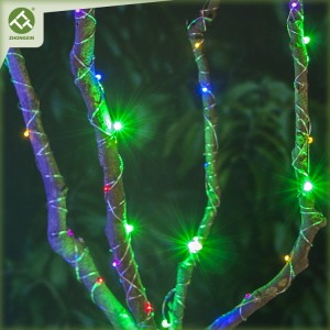 3PK Colorful Copper Wire String Light Battery Operated