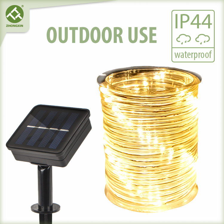 80 LED Solar Outdoor Rope Lights Waterproof Featured Image