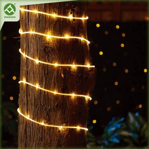 80 LED Solar Outdoor Rope Lights Waterproof