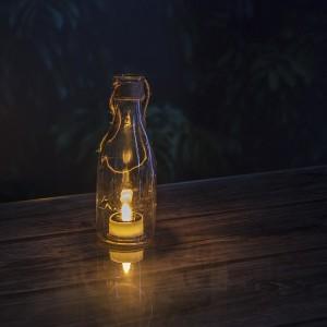 Solar Lantern Lights Flameless LED Garden Decor