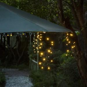 Solar Umbrella Lights Outdoor for Garden Decor