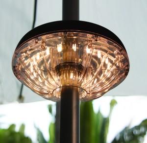 Patio Umbrella LED Lights 3 AA Battery Operated | ZHONGXIN